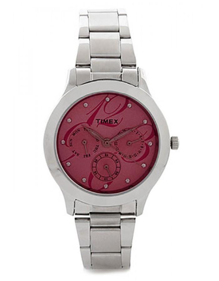 Timex E Class Dark Red By Malabar Watches