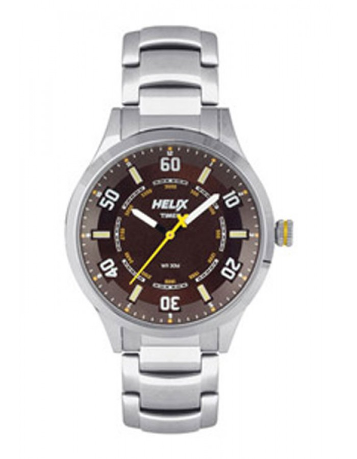 Timex Helix Aviator Analog Brown  By Malabar Watches