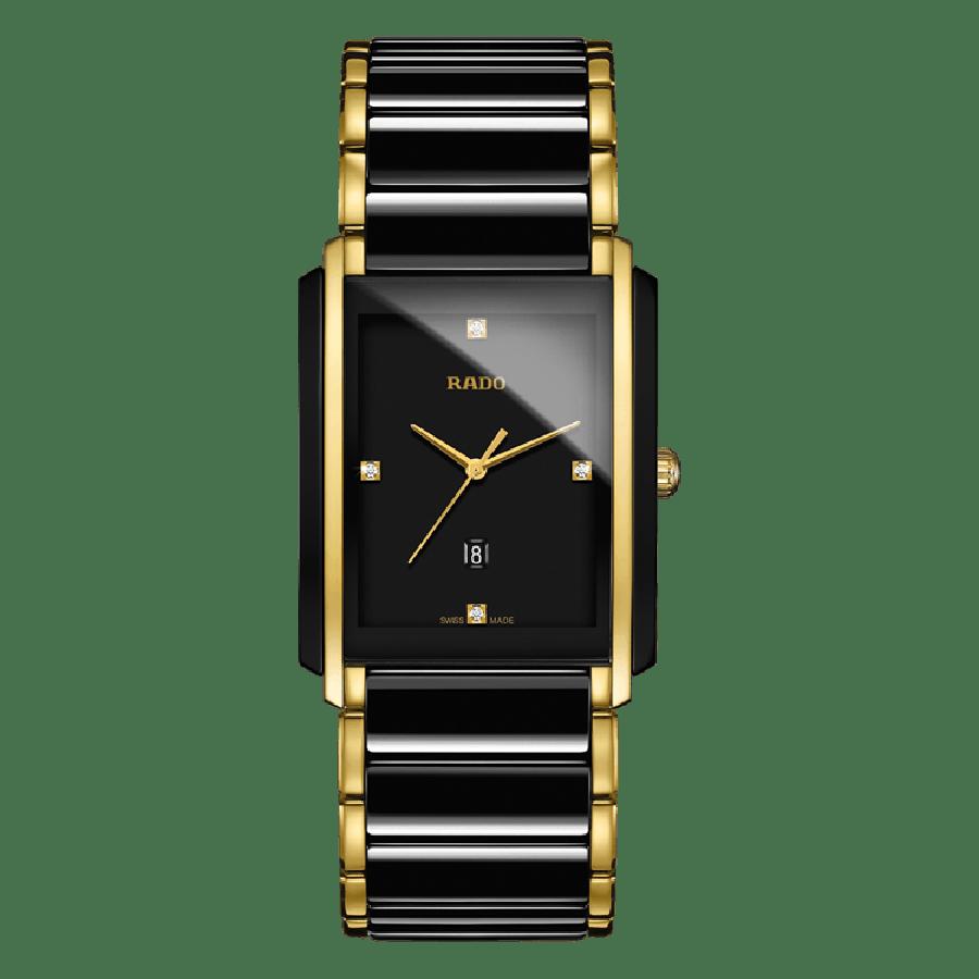 Rado Integral Black Two Tone  By Malabar Watches