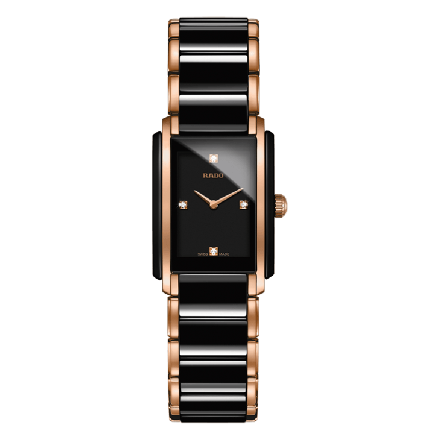 RADO INTEGRAL BLACK TWO TONE