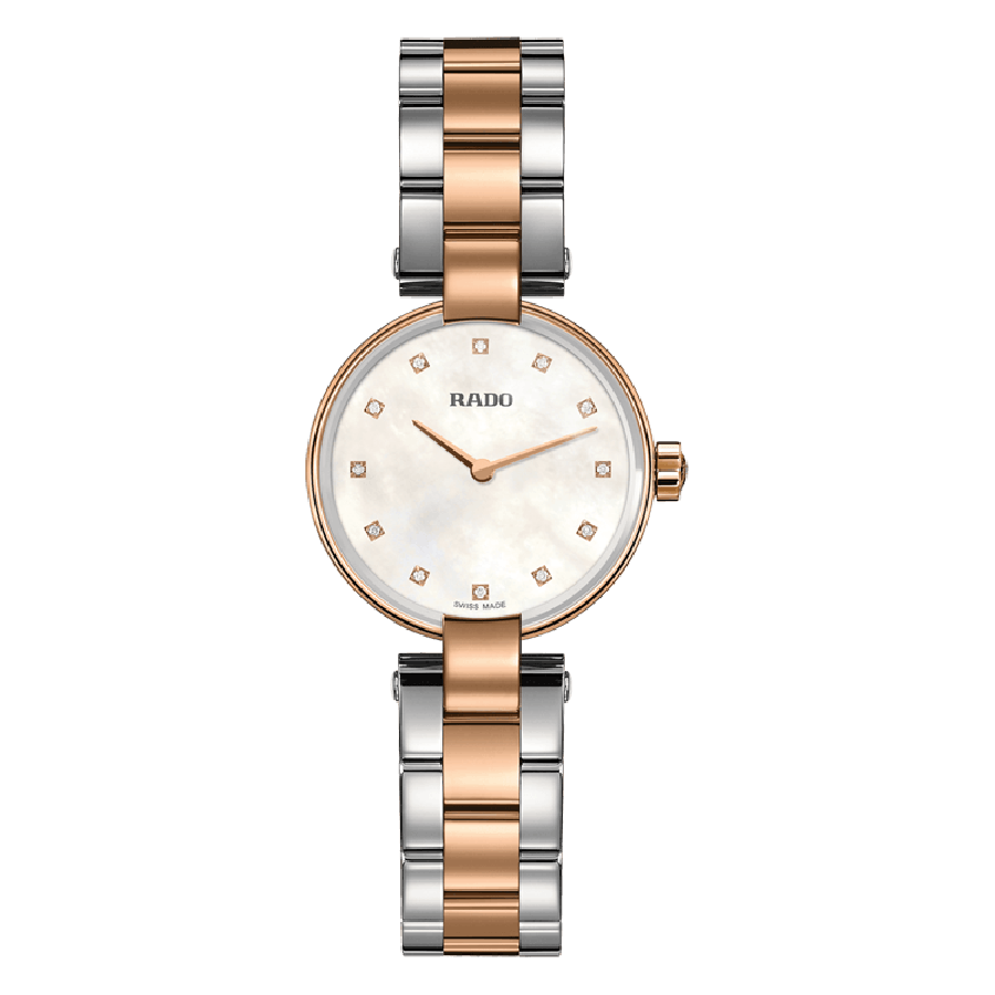 RADO COUPOLE MOP GOLD PLATED