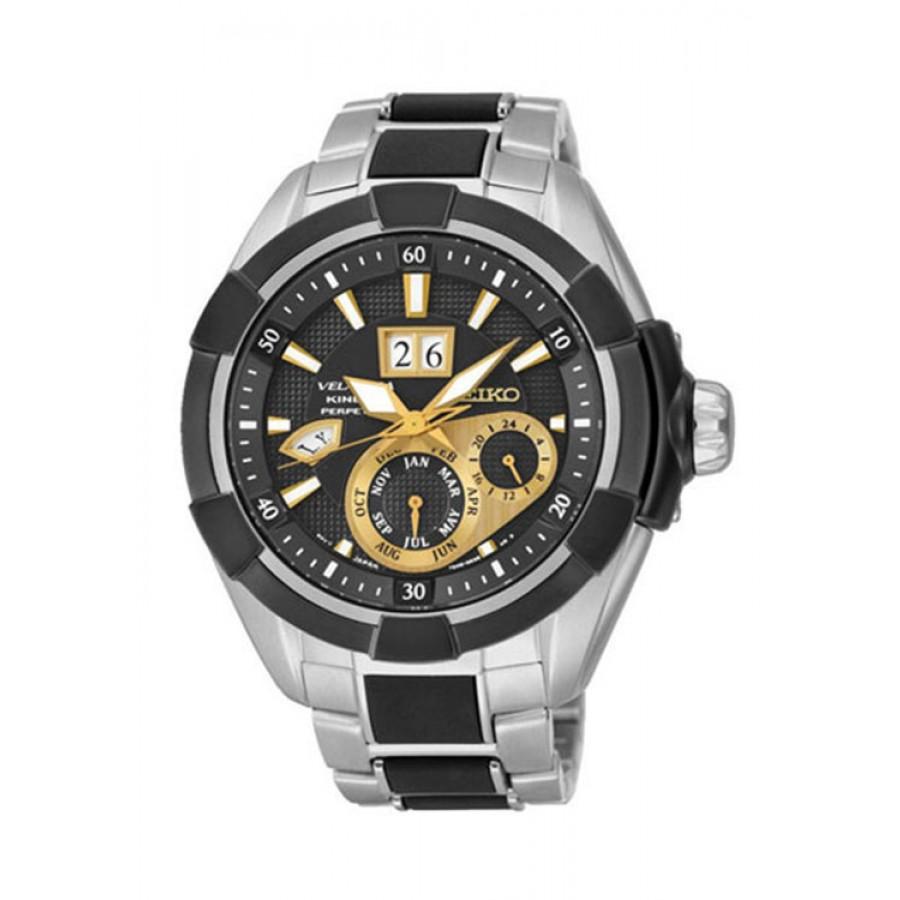 Seiko Snp119P1 Black By Malabar Watches