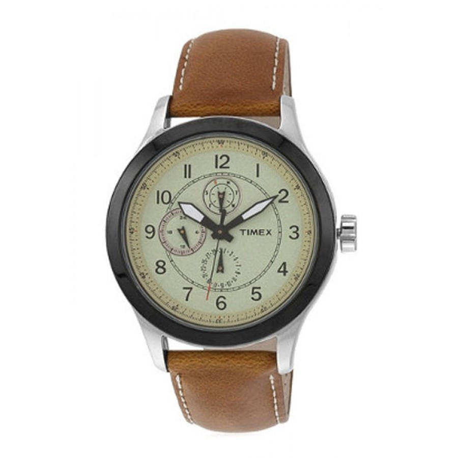 Timex E Class Brown By Malabar Watches