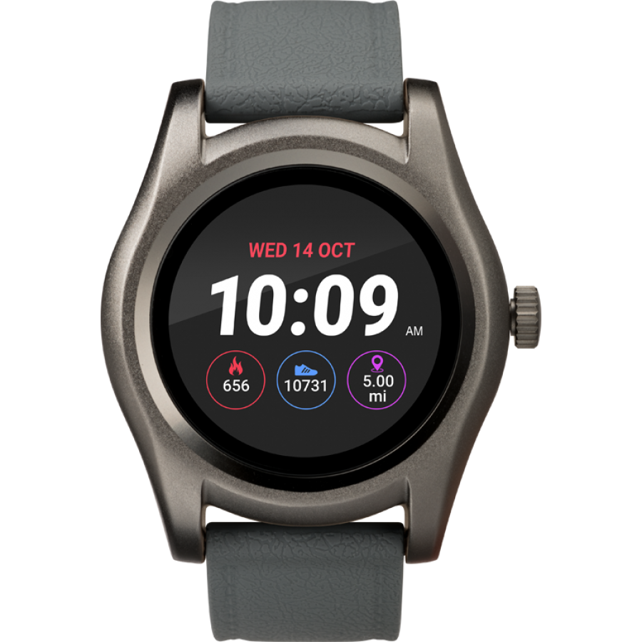 Timex iConnect Round Smartwatch Grey
