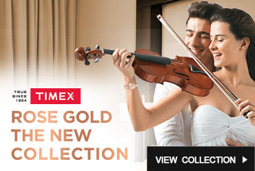Timex Rose Gold Watches Collections by Malabar Watches